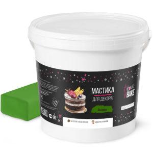 Мастика зеленая I Love Bake 1 кг