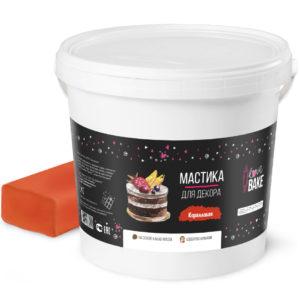 Мастика коралловая I Love Bake 1 кг
