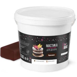 Мастика коричневая I Love Bake 1 кг