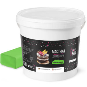 Мастика светло - зеленая I Love Bake 1 кг