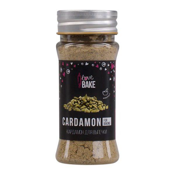 Кардамон молотый для выпечки I Love Bake, 32 г