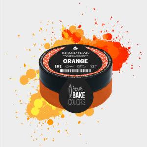 Жирорастворимый краситель для шоколада Апельсин, I Love Bake, 10 г