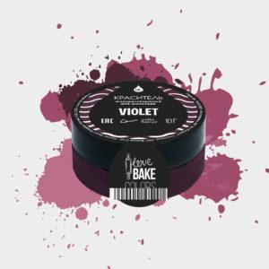 Жирорастворимый краситель для шоколада Фиолетовый, I Love Bake, 10 г