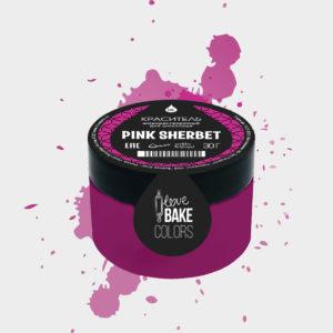 Жирорастворимый краситель для шоколада Розовый Щербет, I Love Bake, 30 г