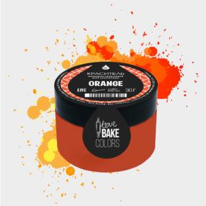 Жирорастворимый краситель для шоколада Апельсин, I Love Bake, 30 г
