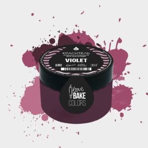 Жирорастворимый краситель для шоколада Фиолетовый, I Love Bake, 30 г