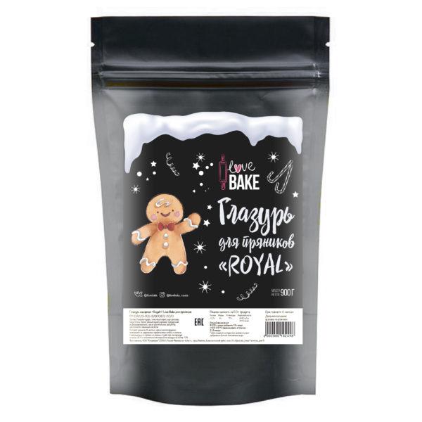 Глазурь сахарная Royal для пряников 950 г, I Love Bake