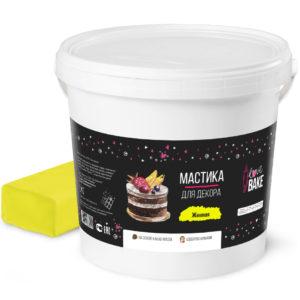 Мастика желтая I Love Bake 1 кг