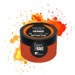 Водорастворимый краситель Апельсин, I Love Bake, 30 г