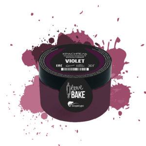 Водорастворимый краситель Фиолетовый, I Love Bake, 30 г