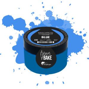 Водорастворимый краситель Голубой, I Love Bake, 30 г