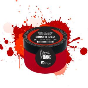 Водорастворимый краситель Ярко-красный, I Love Bake, 30 г