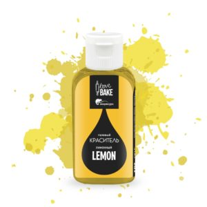 Краситель гелевый Лимонный 30 г, I Love Bake