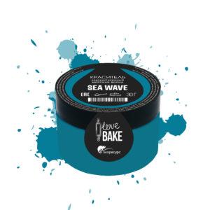 Водорастворимый краситель Морская волна, I Love Bake, 30 г