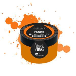 Водорастворимый краситель Персик, I Love Bake, 30 г
