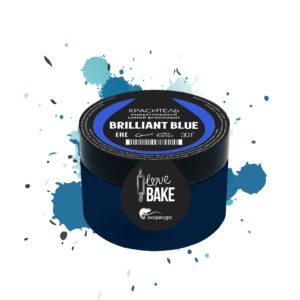 Водорастворимый краситель Синий бриллиант, I Love Bake, 30 г
